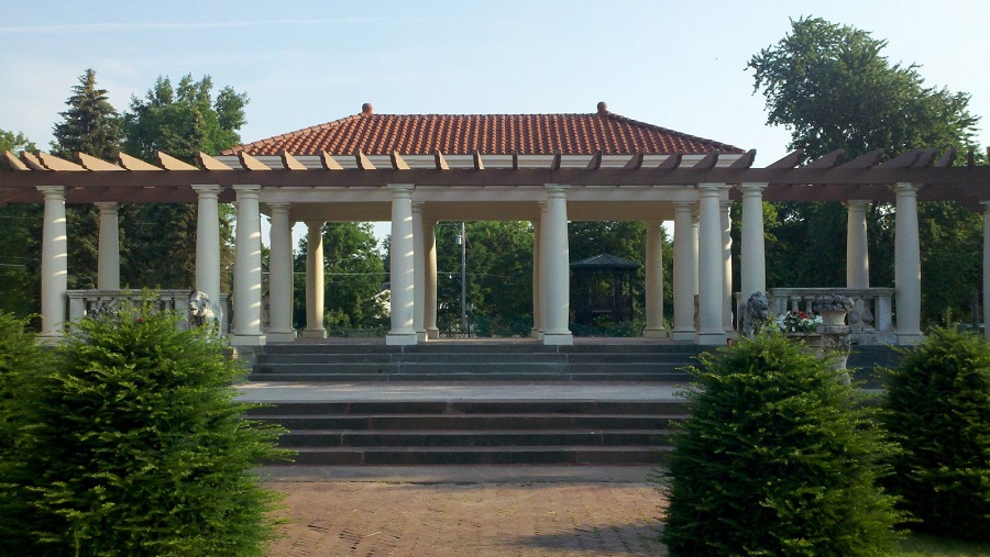Sonnenberg Gardens Restoration 1 - Belvedere
