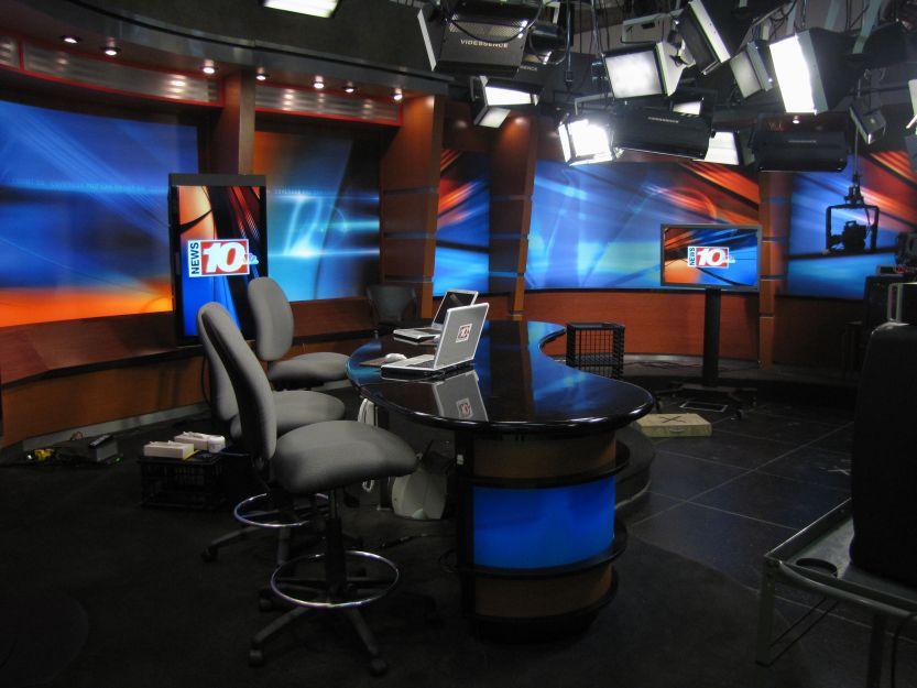 WHEC TV 10 NBC Studios 1