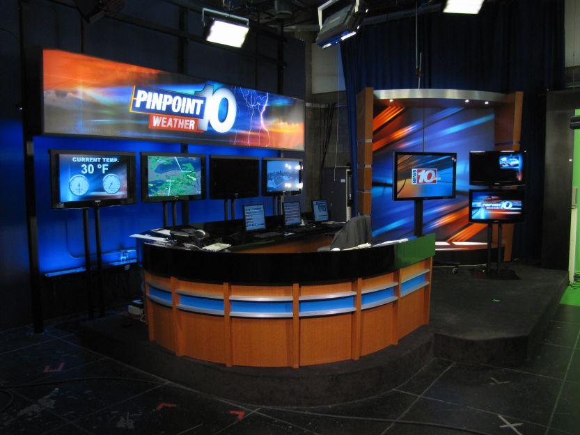 WHEC TV 10 NBC Studios 3