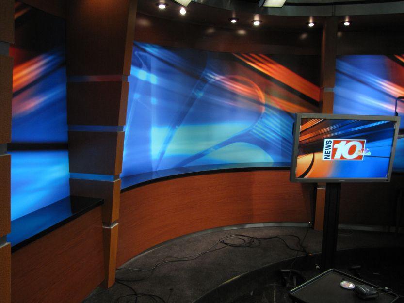 WHEC TV 10 NBC Studios 4